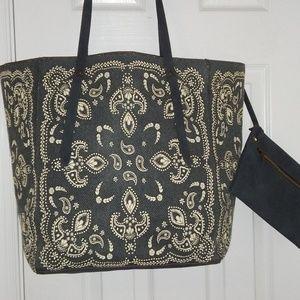 Weekender Bag and purse